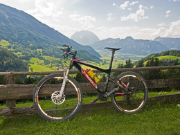 Mountainbike-Alpentour